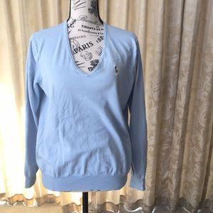 Ralph Lauren V Neck sweater. SIZE: XL